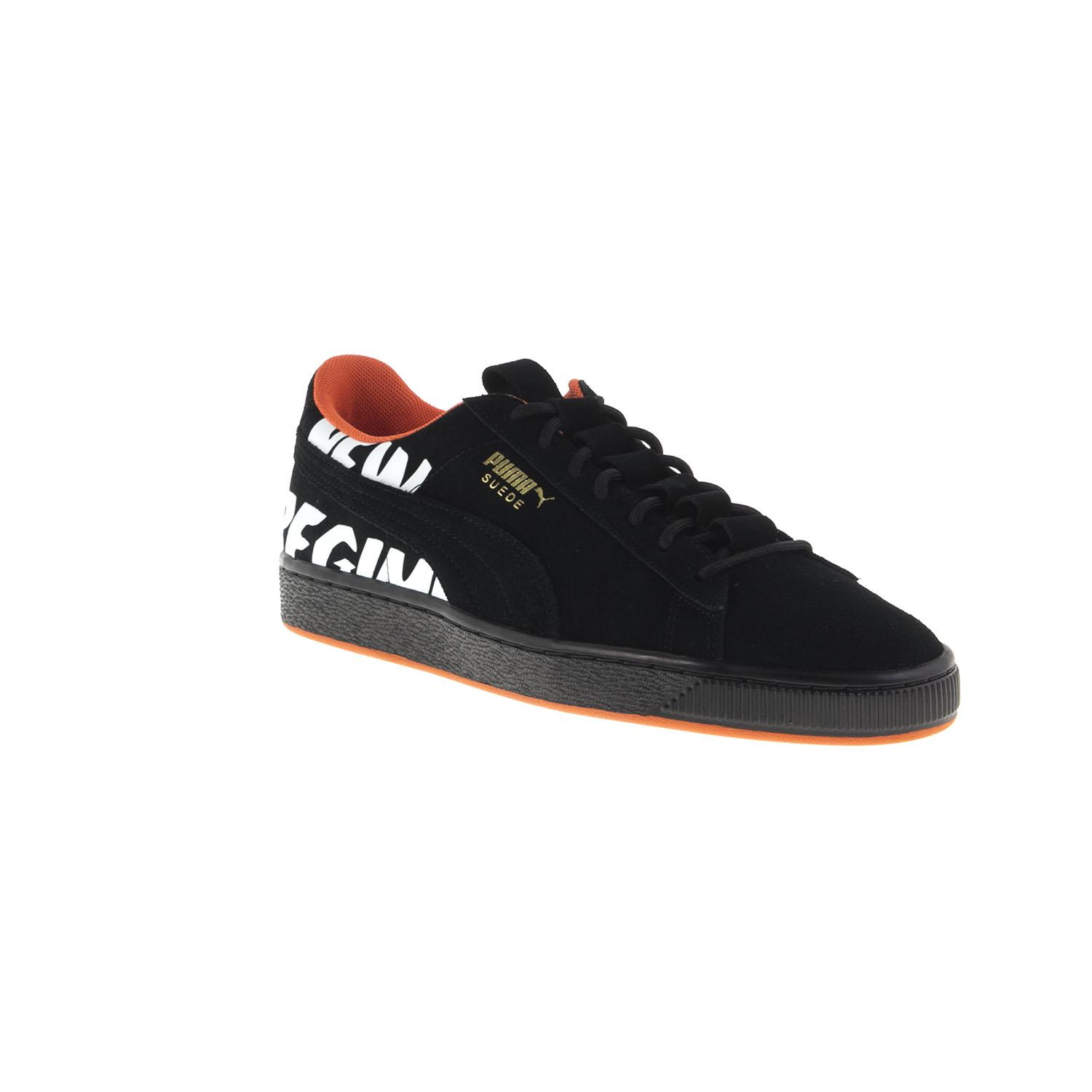 factory authentic d05bf 4012f Puma Suede Anr Trainers in Black for Men - Lyst