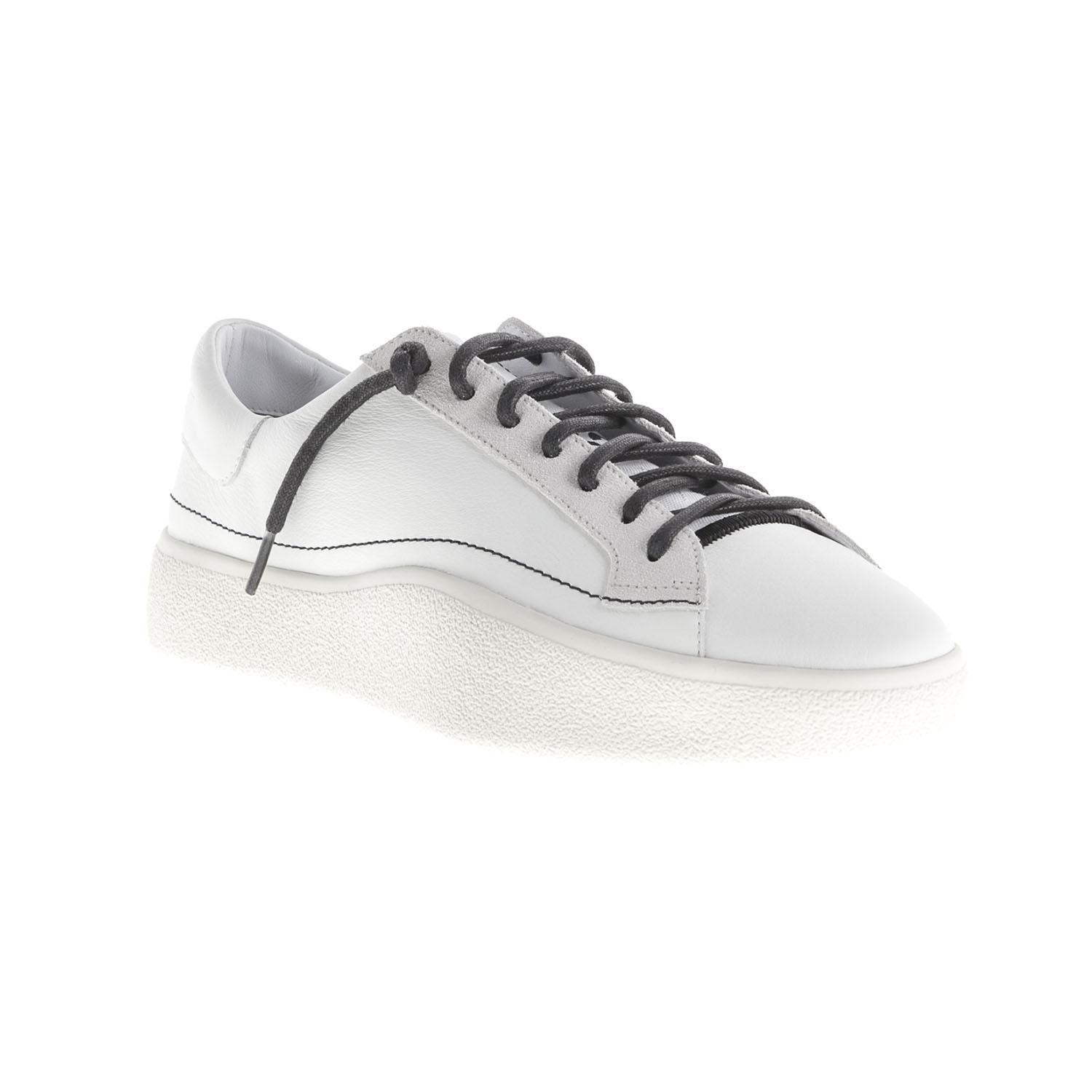 ff71cba82c8 Y-3 Tangutsu Lace Trainers in White for Men - Lyst