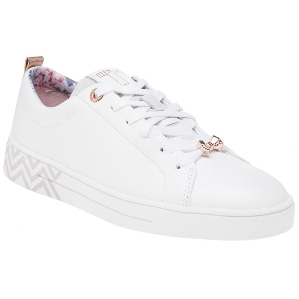 5bb6379cfd7aef Ted Baker Kelleip Trainers in White - Lyst