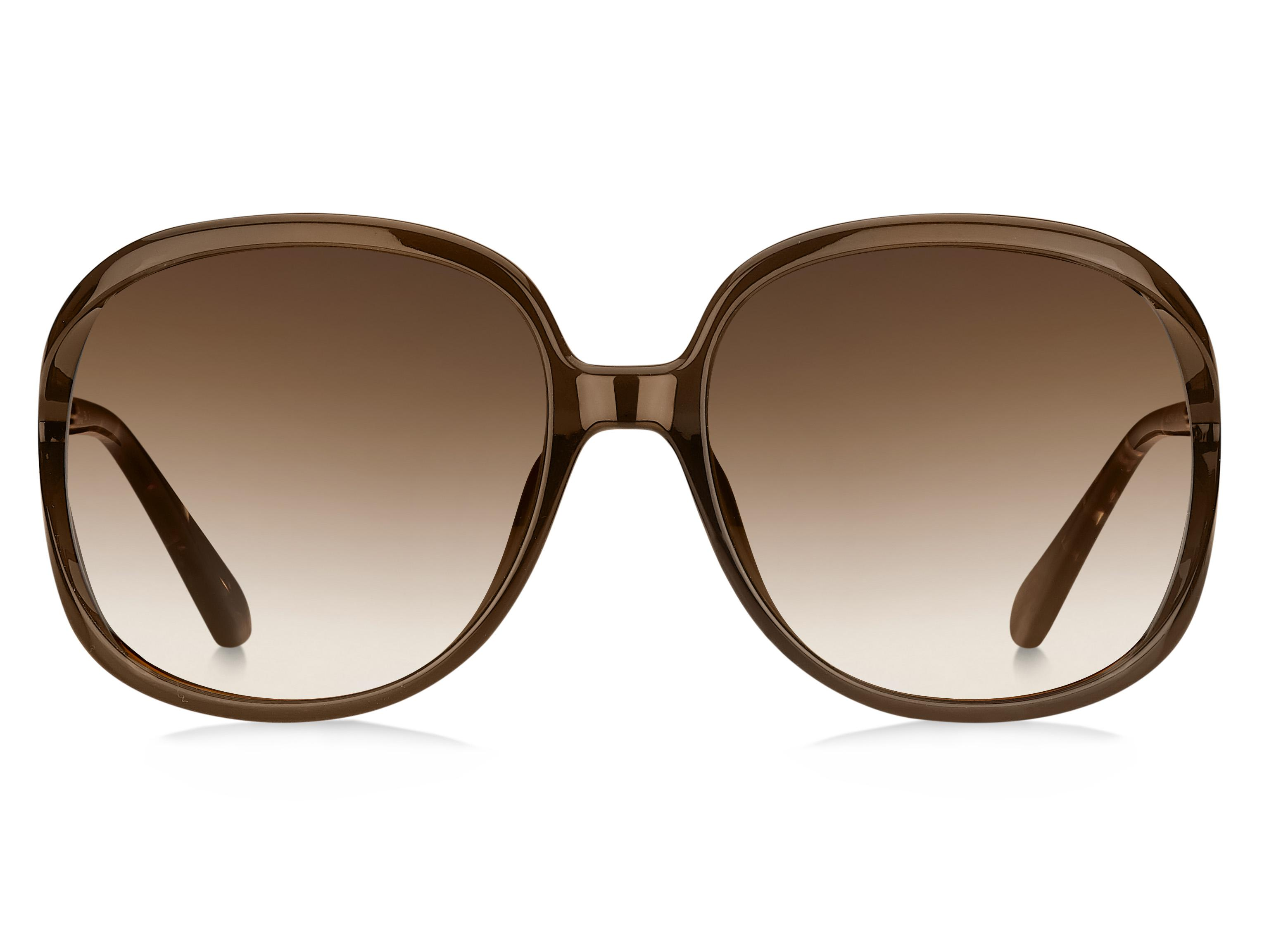 32bb60bab239 Lyst - Kate Spade Mackenna/s Rectangle Sunglasses in Brown