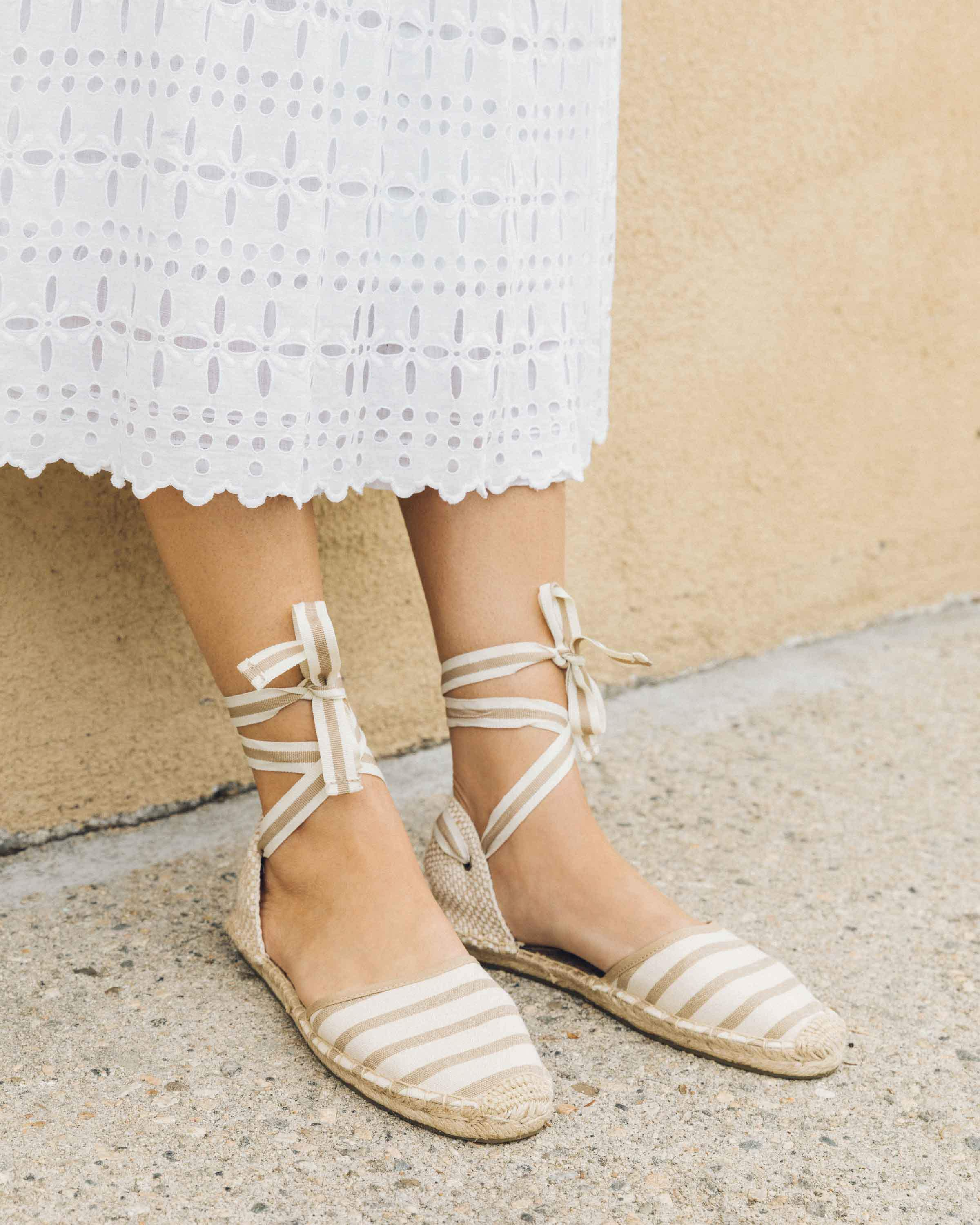 Soludos Classic Striped Sandal - Lyst