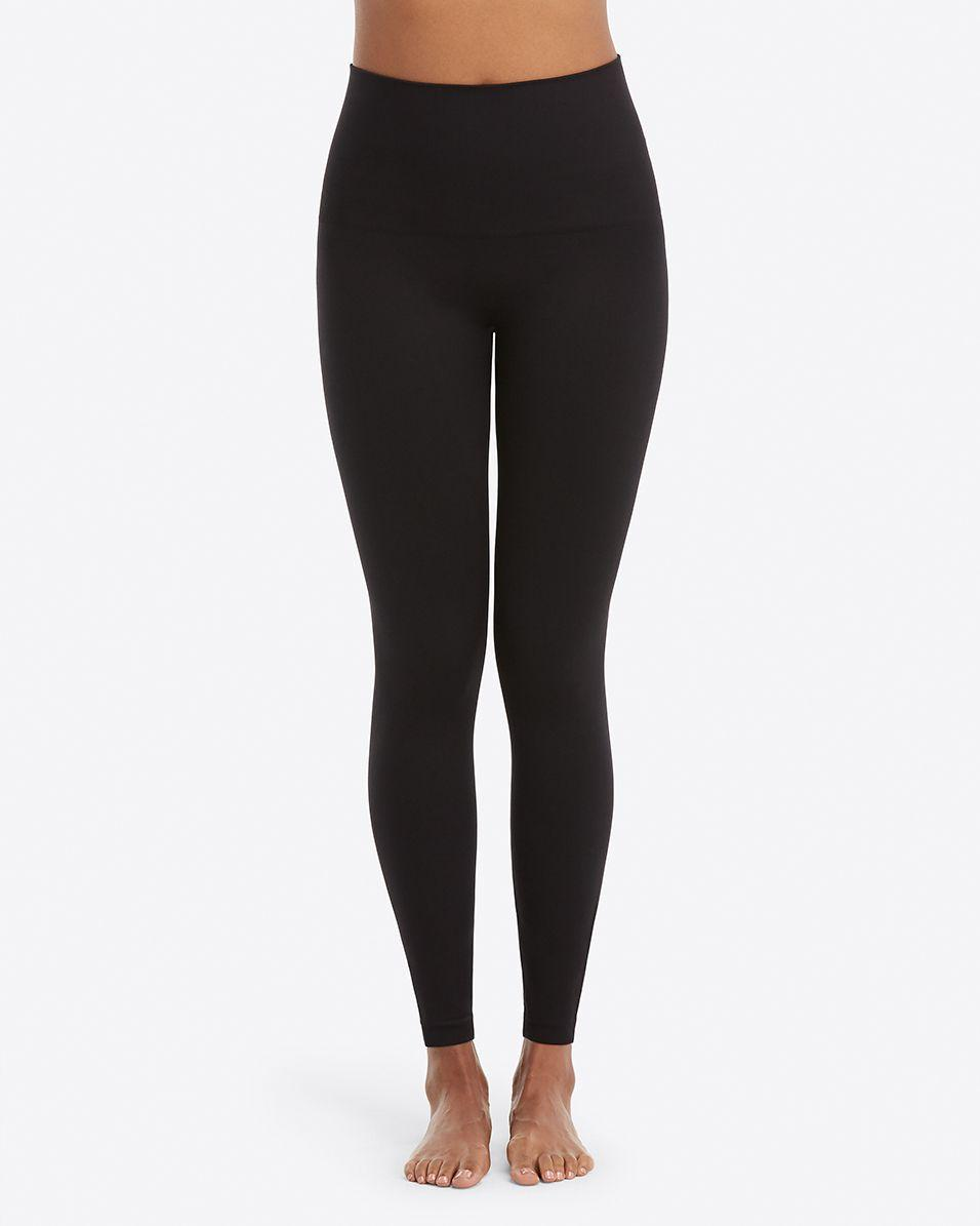 9f1f8640d Lyst - Spanx Look At Me Now Seamless Leggings in Black - Save 50%
