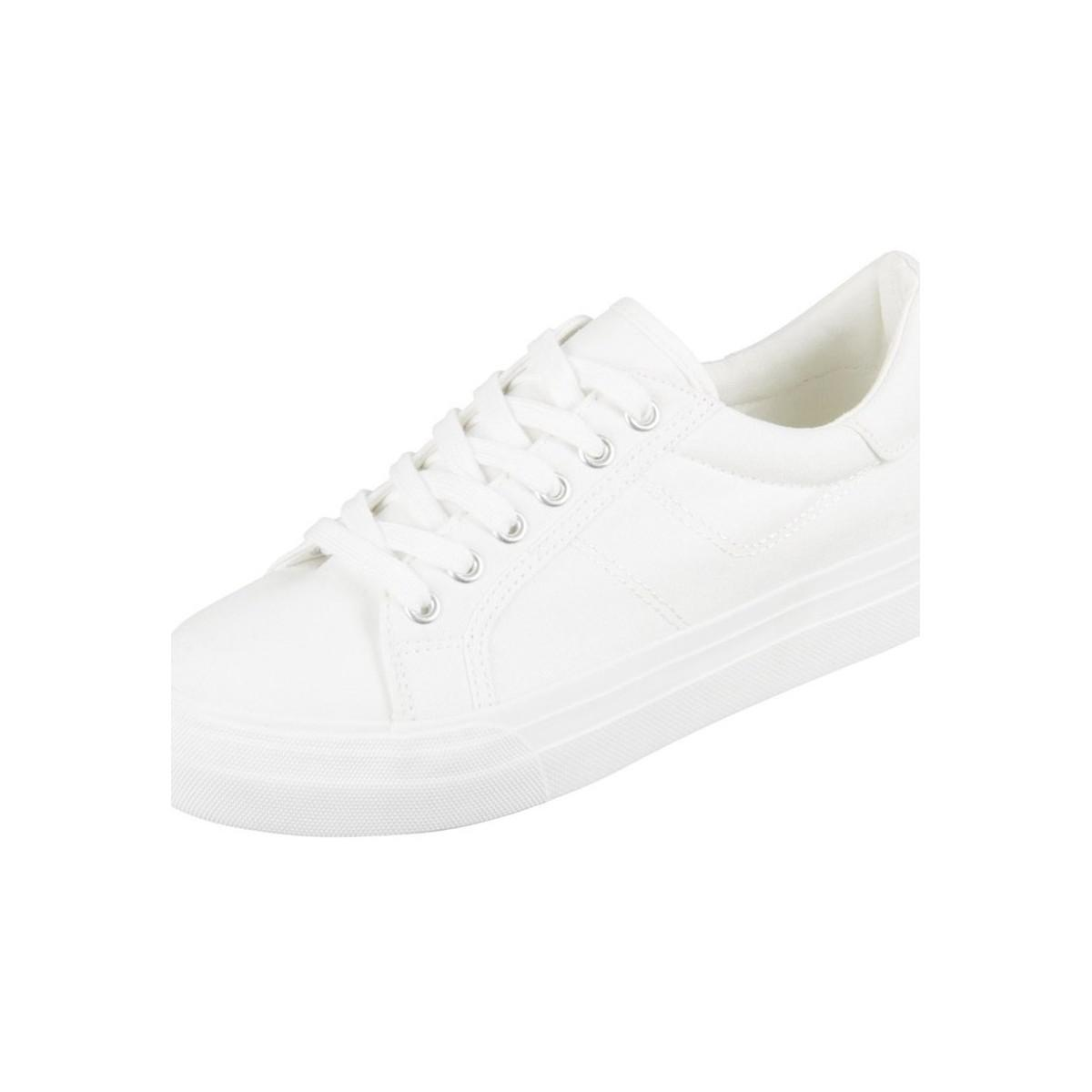 Tamaris 12360220100 Women's Shoes (trainers) In White
