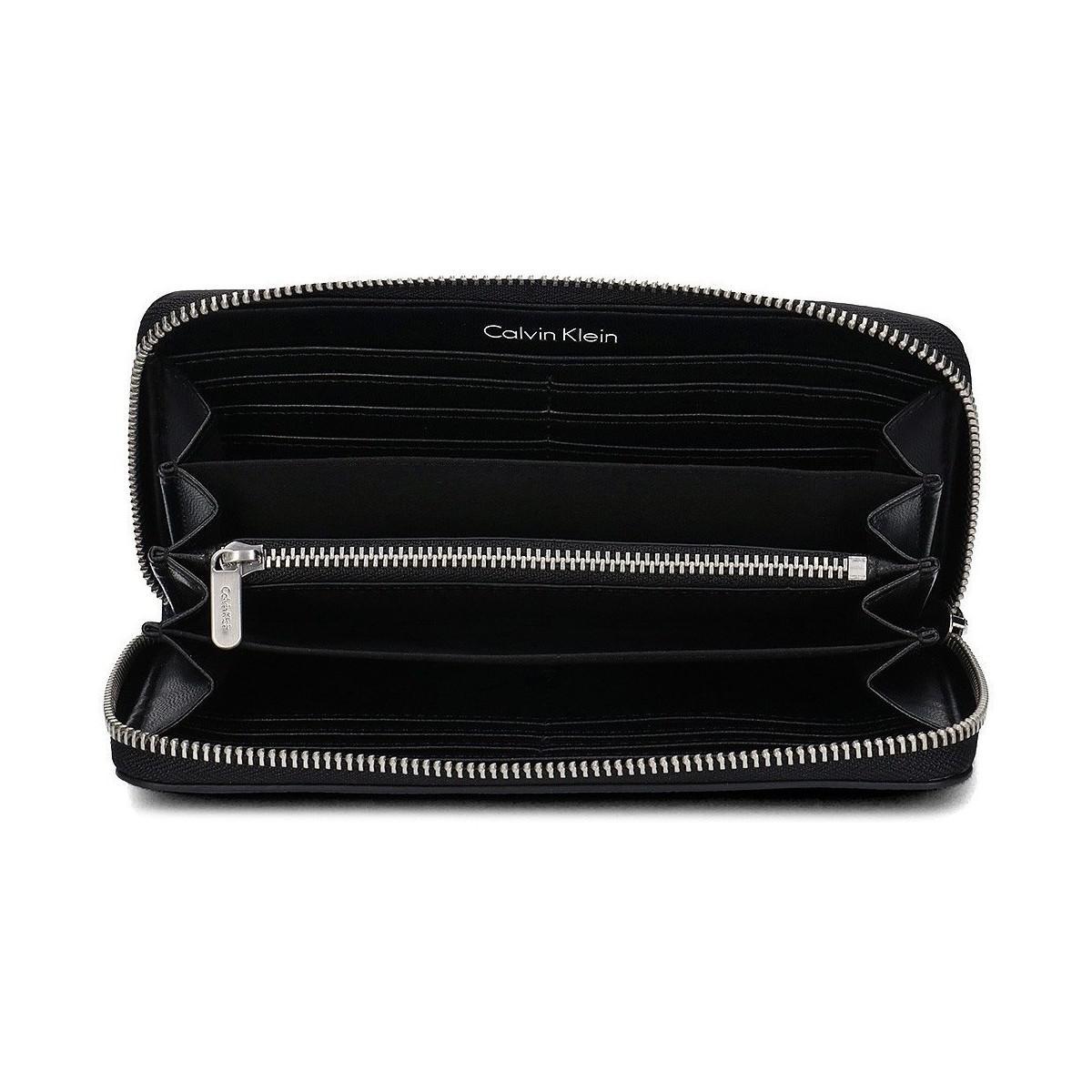 eae5c525cd Calvin Klein Edge Large Ziparound Men's Purse Wallet In Multicolour ...