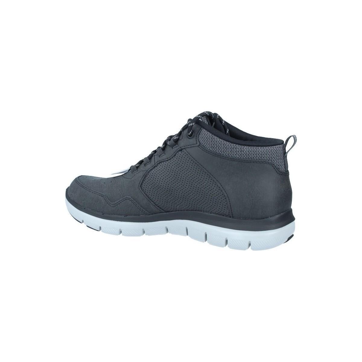 Skechers Laarzen Flex Advantage 2.0 52187 Botas De Hombres in het Zwart voor heren
