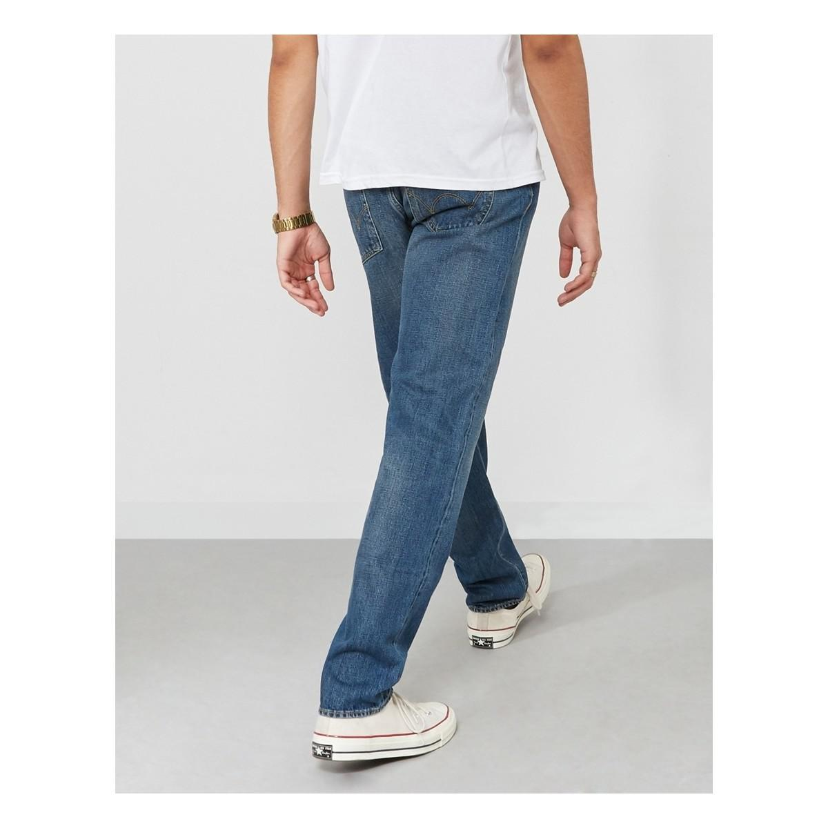 97056d77 Edwin Ed-80 Slim Tapered Red Listed Selvage Denim Jeans Retro Wash ...
