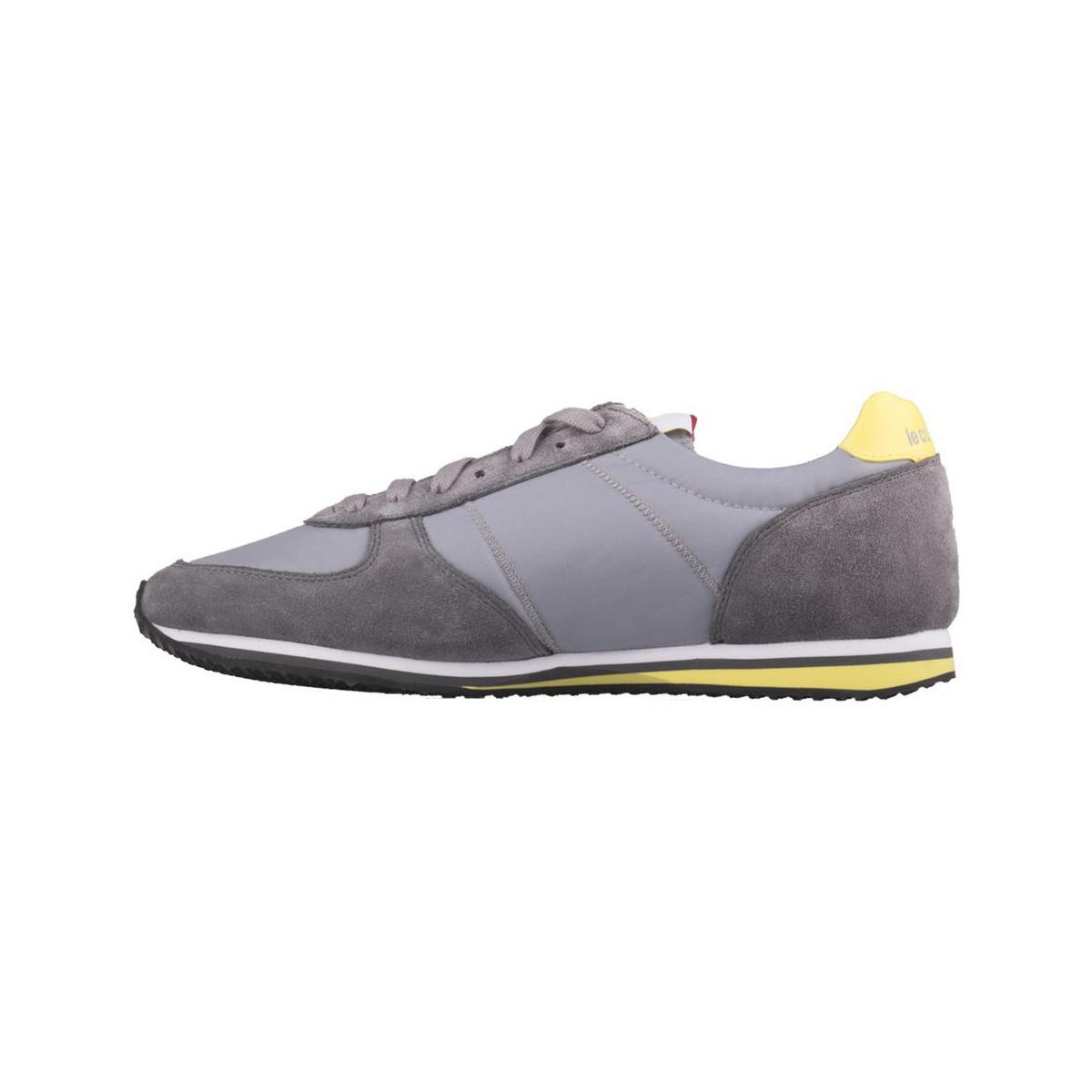 Le Coq Sportif Bolivar Grey Women's Mid Boots In Yellow