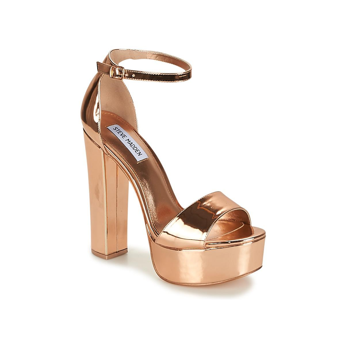 0ace5127d1e Steve Madden Gonzo Women s Sandals In Pink in Pink - Lyst