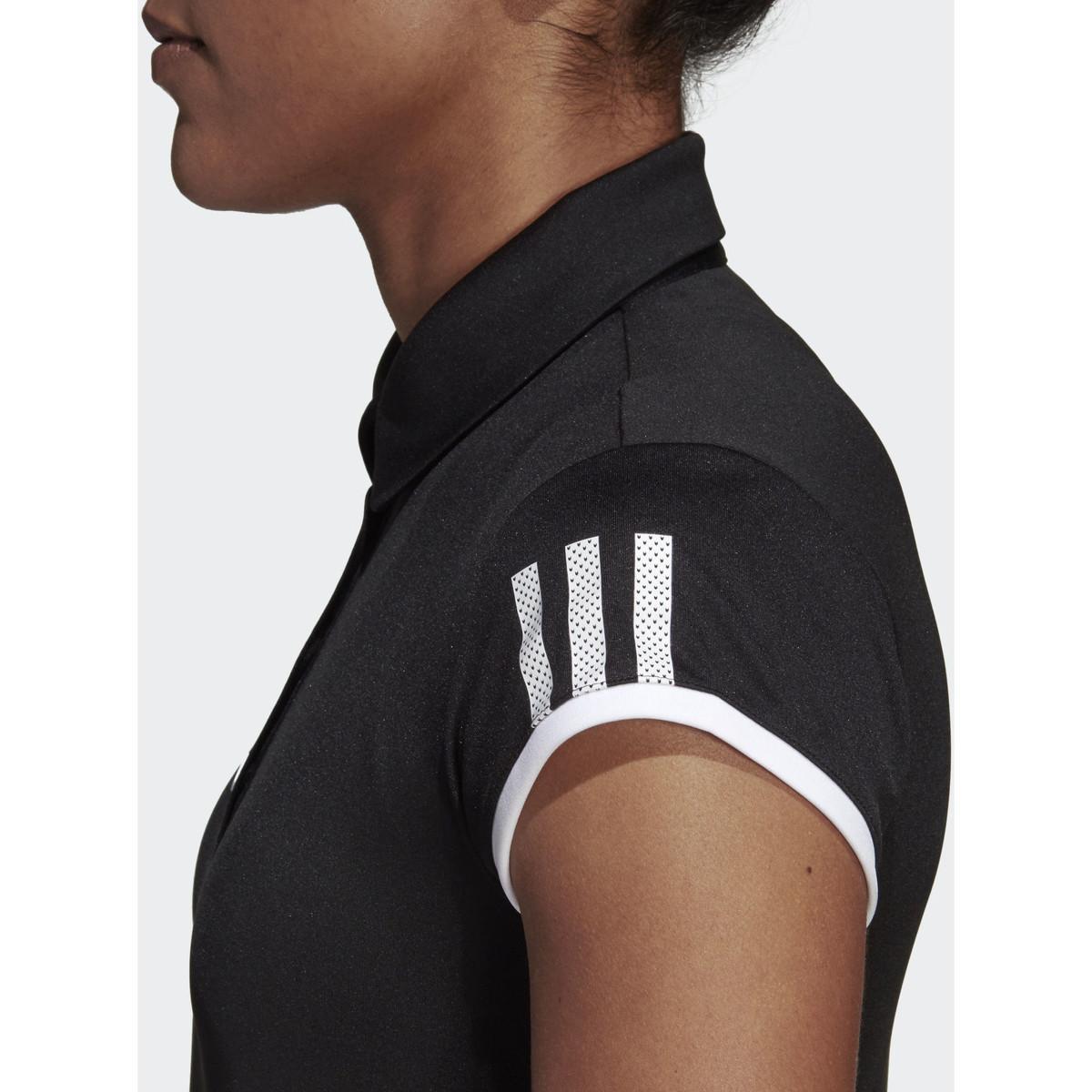 Polo Club 3-Stripes Polo adidas en coloris Noir