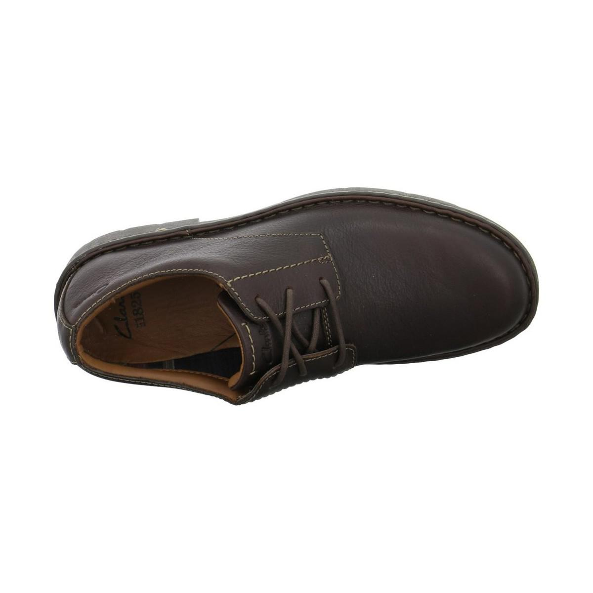 Clarks Stratton Way Men's Casual Shoes In Brown for Men