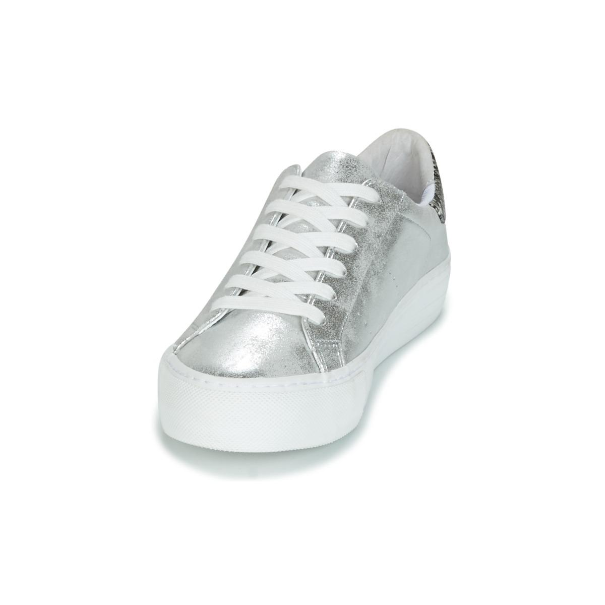 No Name Synthetic Arcade Glow Women's Shoes (trainers) In Silver in Metallic