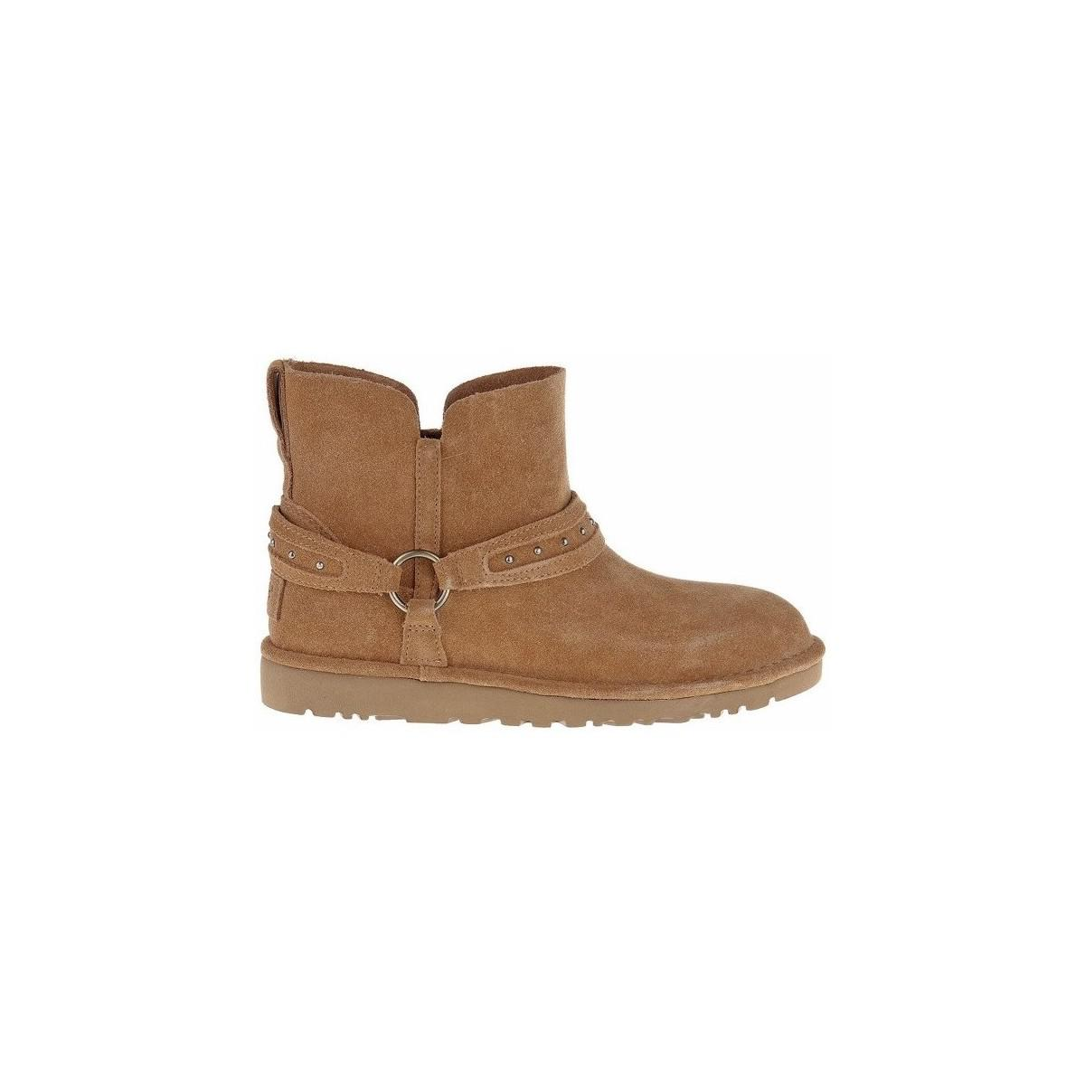 UGG Ailiyah Women's Wellington Boots In Brown