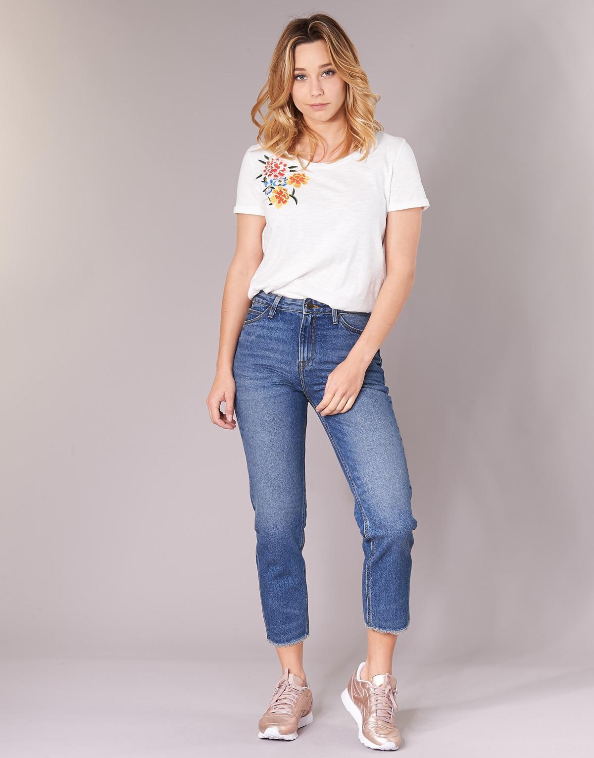065e9617 Lee Jeans Mom Straight Women's Jeans In Blue in Blue - Lyst