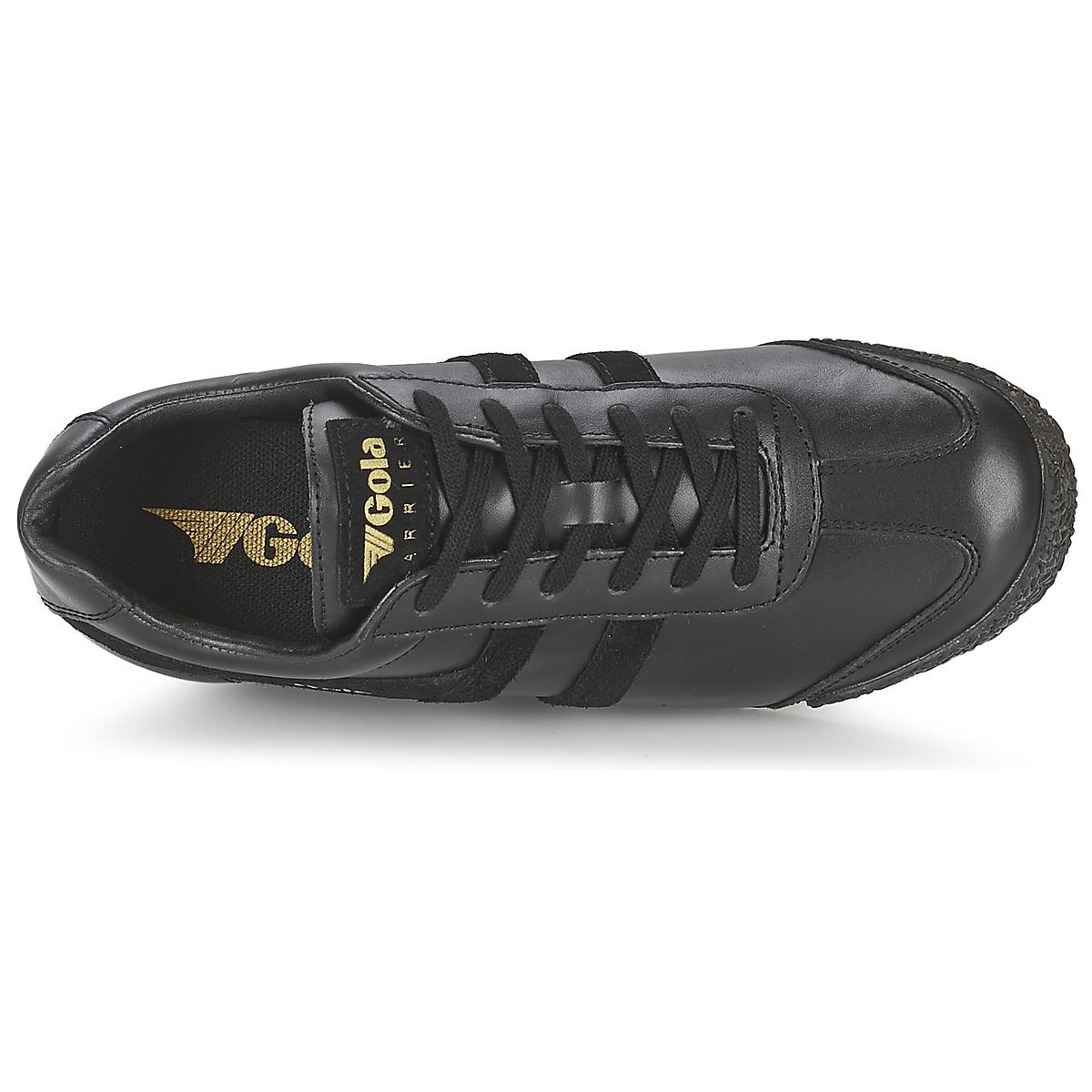 Gola Leather Harrier Mono Men's Shoes (trainers) In Black for Men