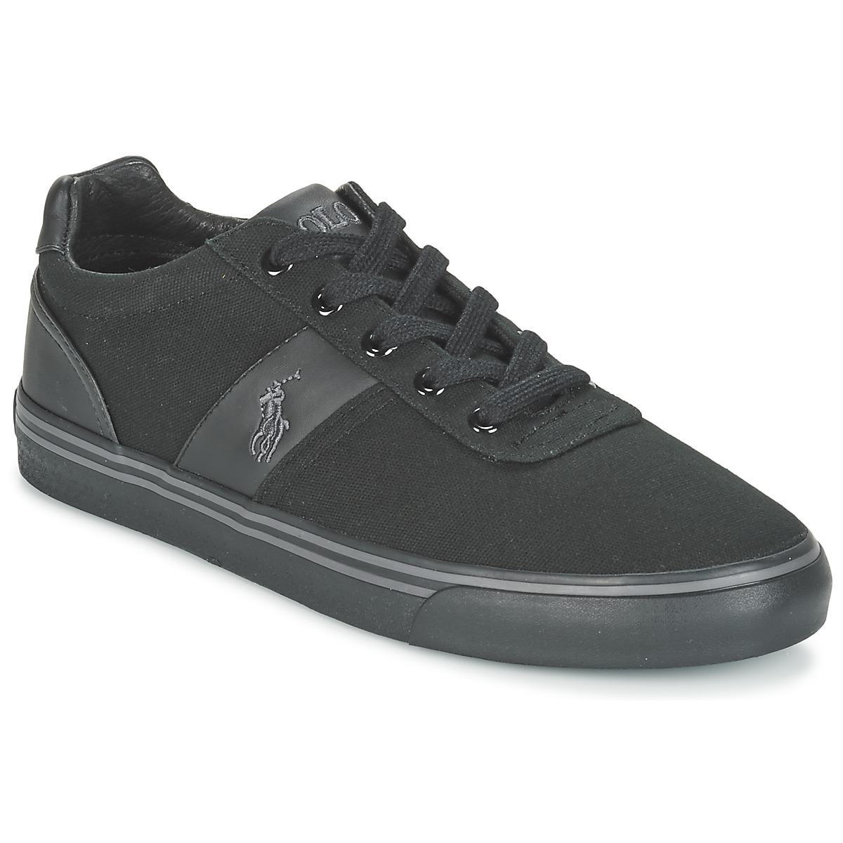0a59e645c166e Polo Ralph Lauren Hanford-ne Men s Shoes (trainers) In Black in ...