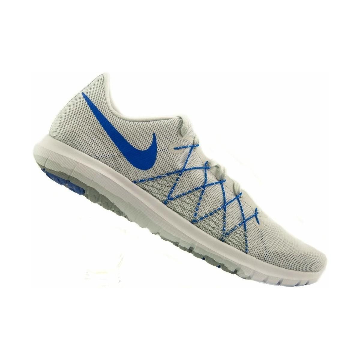 nike  flex fury 2 scarpe da uomo (formatori) in multicolour in blu