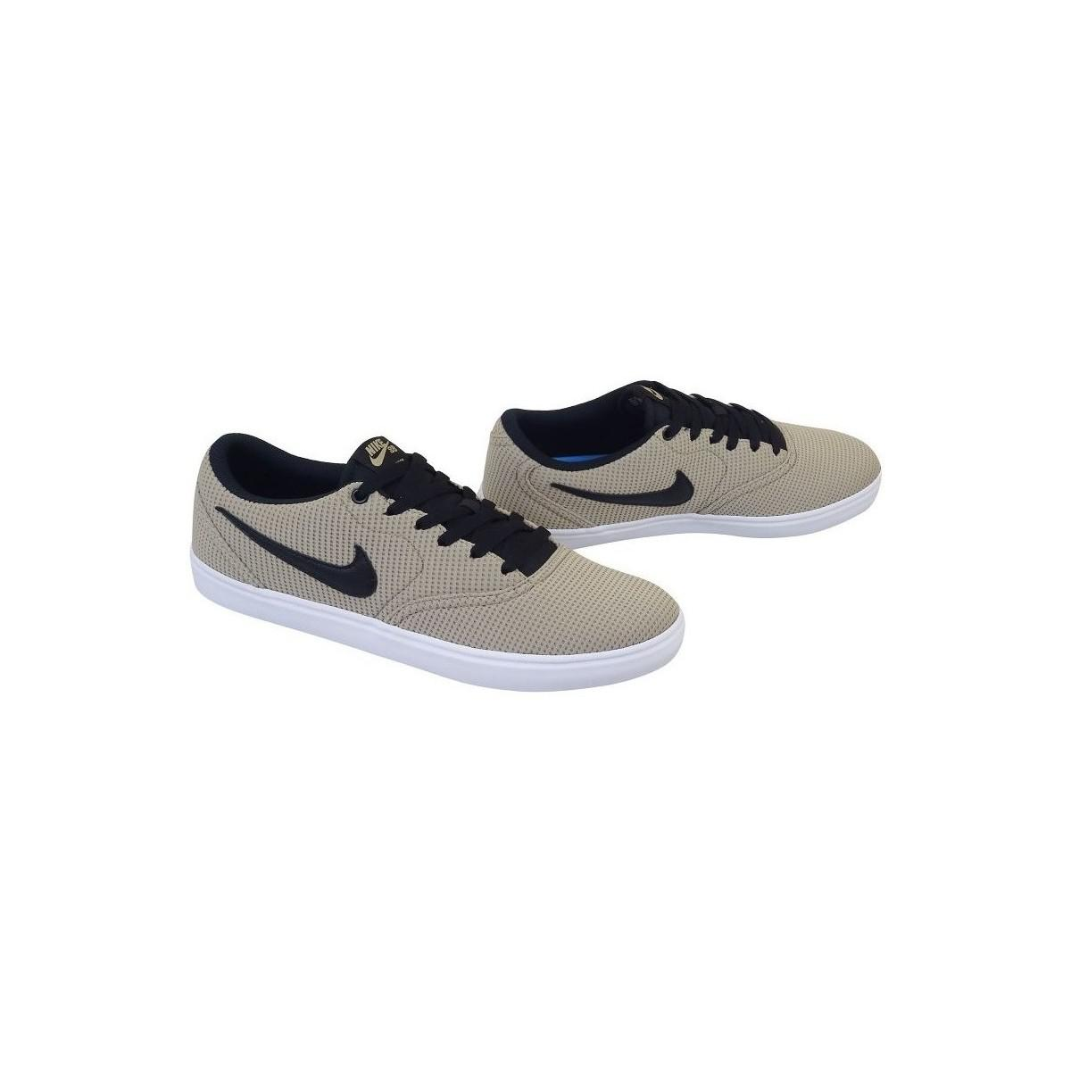 Nike Sb Check Solarsoft Men's Shoes (trainers) In Beige in Natural for Men