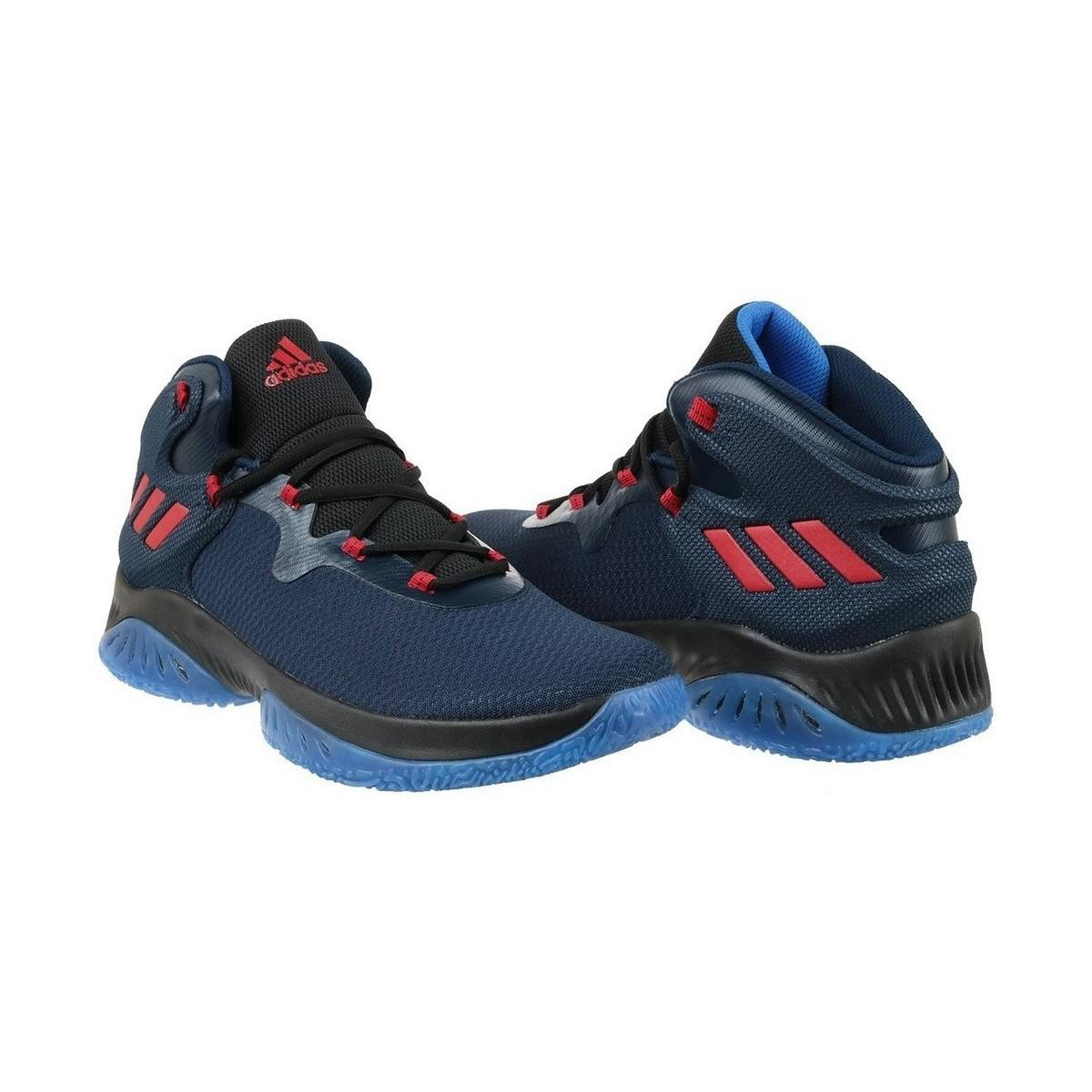 adidas Explosive Bounce Men's Shoes (high-top Trainers) In Multicolour in Blue for Men