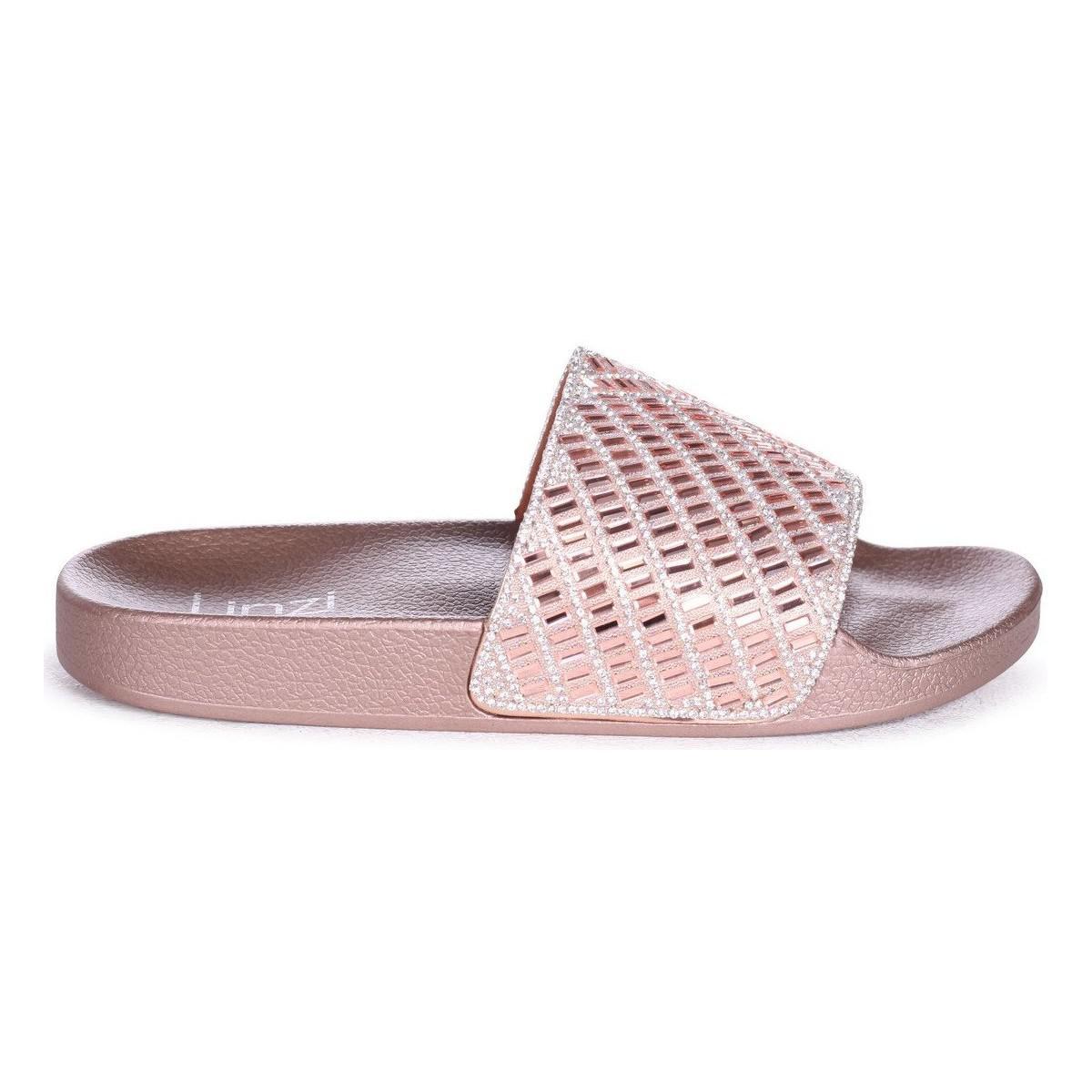 8a5da92cc7013a Linzi Solitaire Women s Mules   Casual Shoes In Gold in Metallic - Lyst