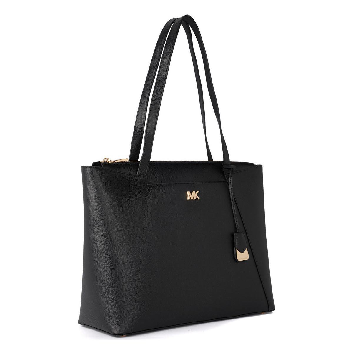 45b083c9d18f4e MICHAEL Michael Kors Maddie Black Leather Shoulder Bag. Women's ...
