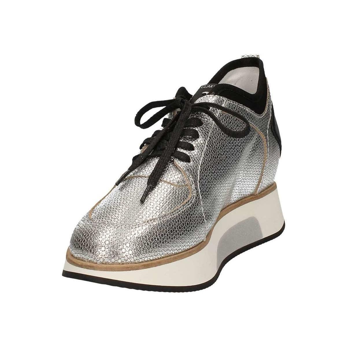 Alberto Guardiani Sd58545e Shoes With Laces Women Grey Women's Walking Boots In Grey in Grey