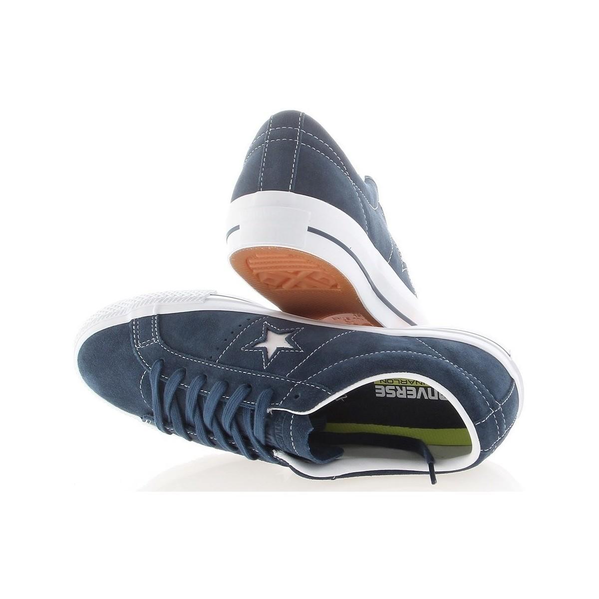 Converse One Star Skate Skate Shoe in Blue for Men