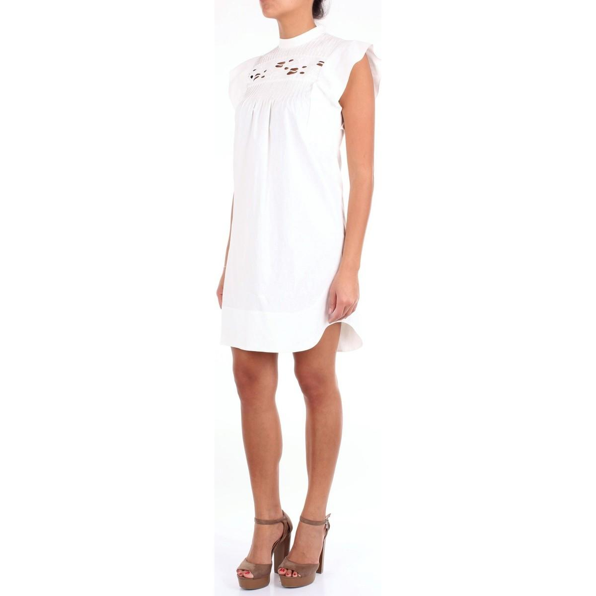 CHC18URO30043 Robe Chloé en coloris Blanc