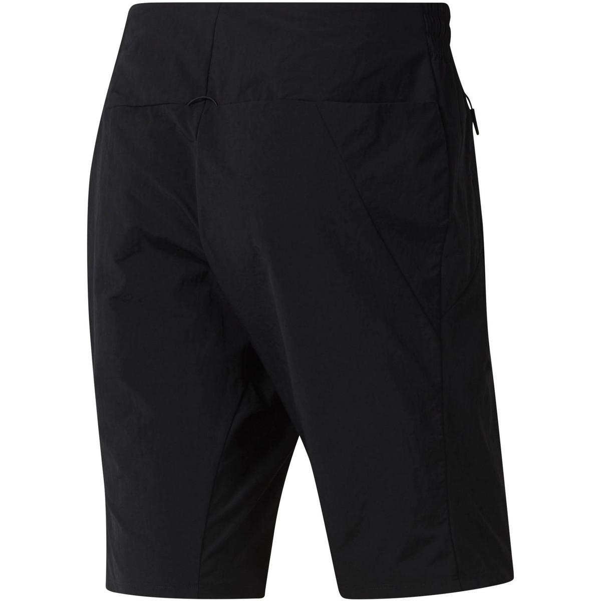 Reebok Korte Broek Training Supply Short in het Zwart voor heren