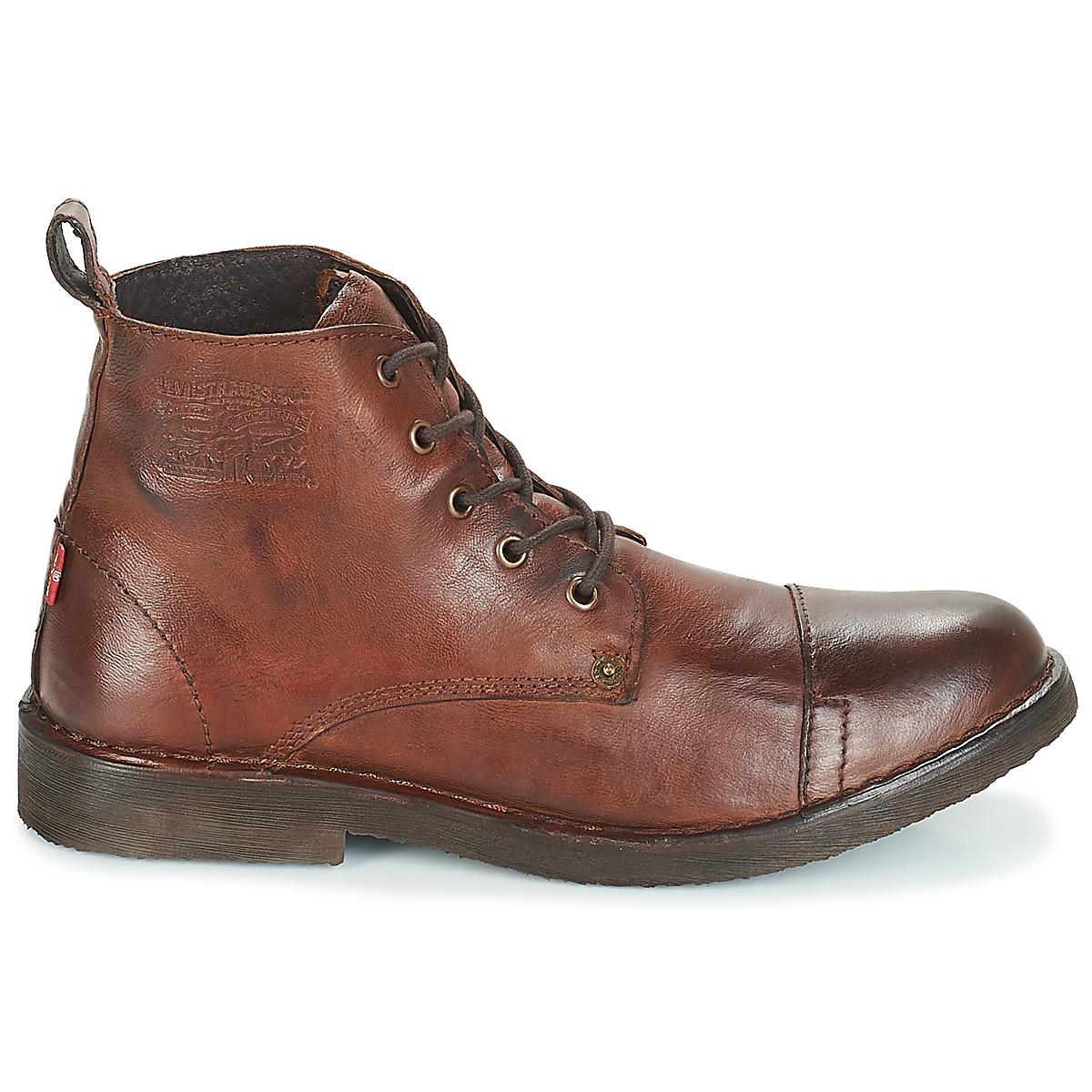 cbb8c78c3b1a24 TRACK hommes Boots en rouge Levi's pour homme en coloris Rouge - Lyst
