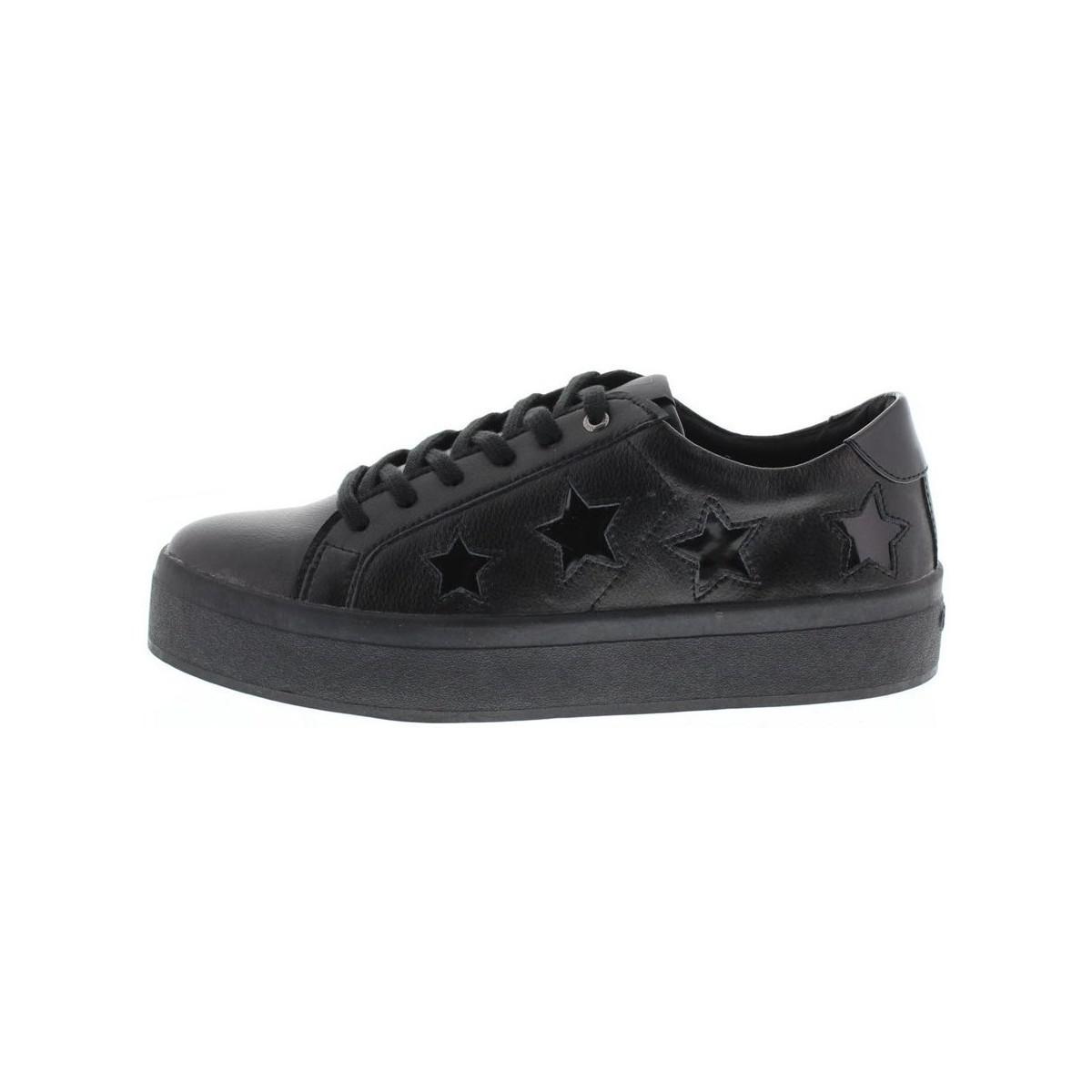 Guess Lyst Noir Coloris Femmes Fhalstar Chaussures En xFwfOXFq