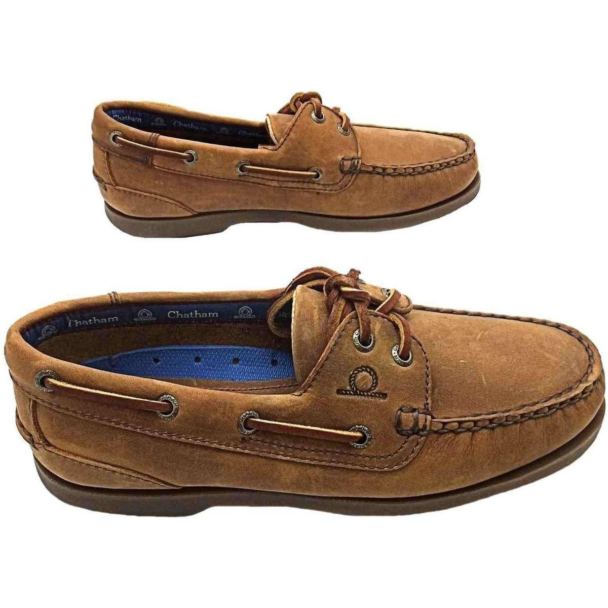 brown leather boat shoes womens factory
