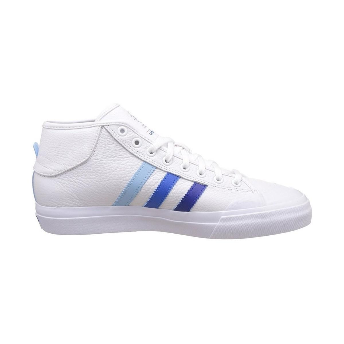 adidas Matchcourt Mid Adv Men's Shoes (high-top Trainers) In White for Men