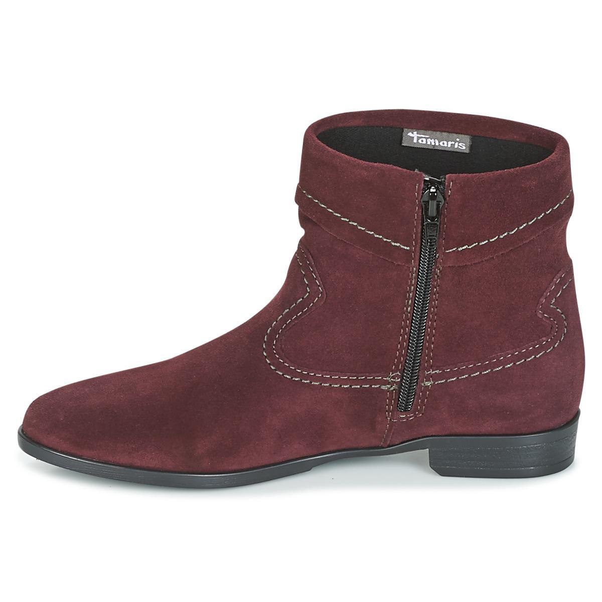 Tamaris Iamen Women's Mid Boots In Red