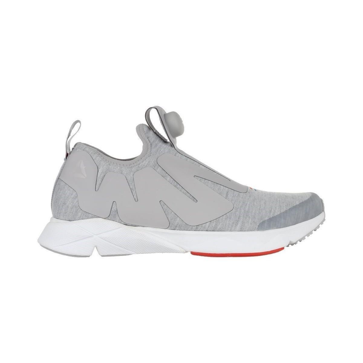 f143aa037ec0 Reebok Pump Plus Supreme Hoodie Men s Shoes (trainers) In Grey in ...