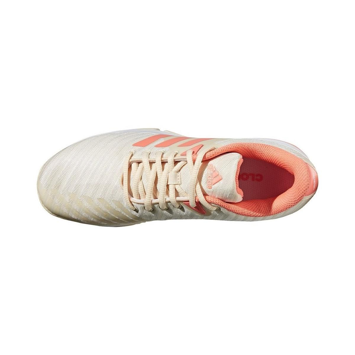 adidas Barricade Court W Women's Shoes (trainers) In Beige in Natural