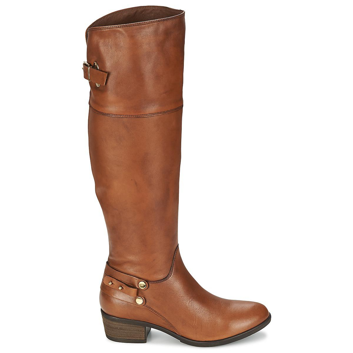 Clarks Leather Lindley Charm Women's High Boots In Brown