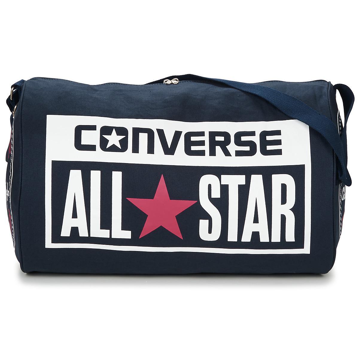 0412a6cead6 Converse Legacy Barrel Duffel Bag Women's Sports Bag In Blue in Blue ...