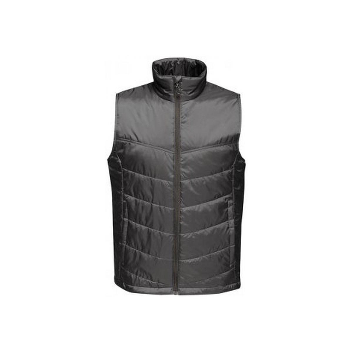 Professional Men/'s Haber II Fleece Bodywarmer Black