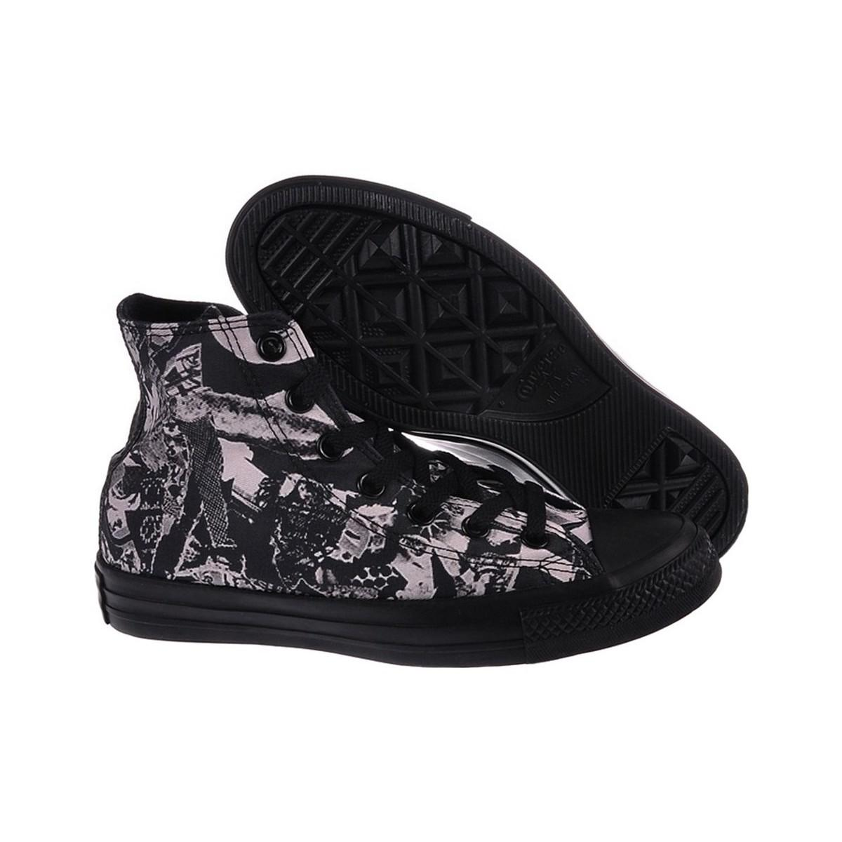 Converse Ct Hi Women's Shoes (high-top Trainers) In Black