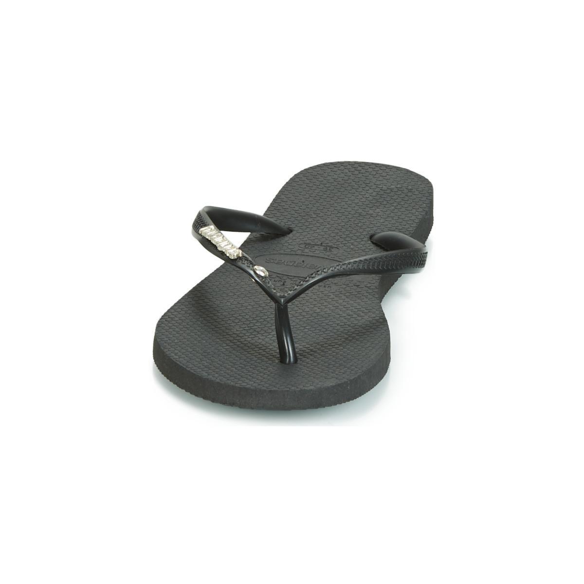 878883da5cdaea Havaianas - Multicolor Slim Logo Metallic Crystal Women s Flip Flops    Sandals (shoes) In. View fullscreen