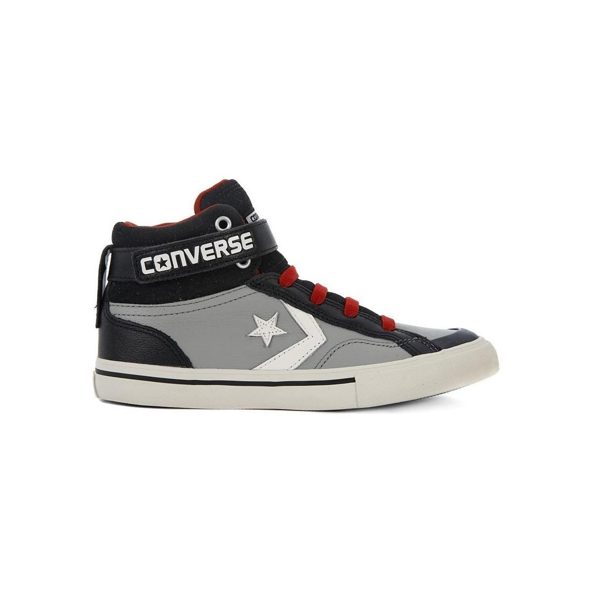 d34ef704a815 Converse Pro Blaze Strap Women s Shoes (high-top Trainers) In Black ...