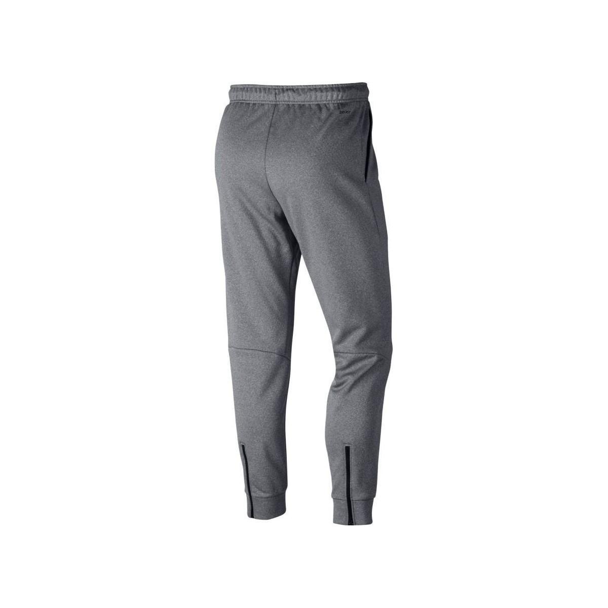 Nike Trainingsbroek Therma Sphere Pant Homme in het Grijs voor heren