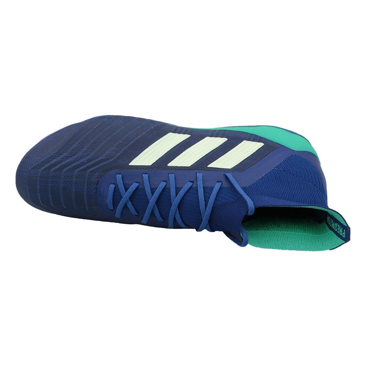 adidas Voetbalschoenen Predator 18.1 Sg Cp9262 in het Blauw voor heren