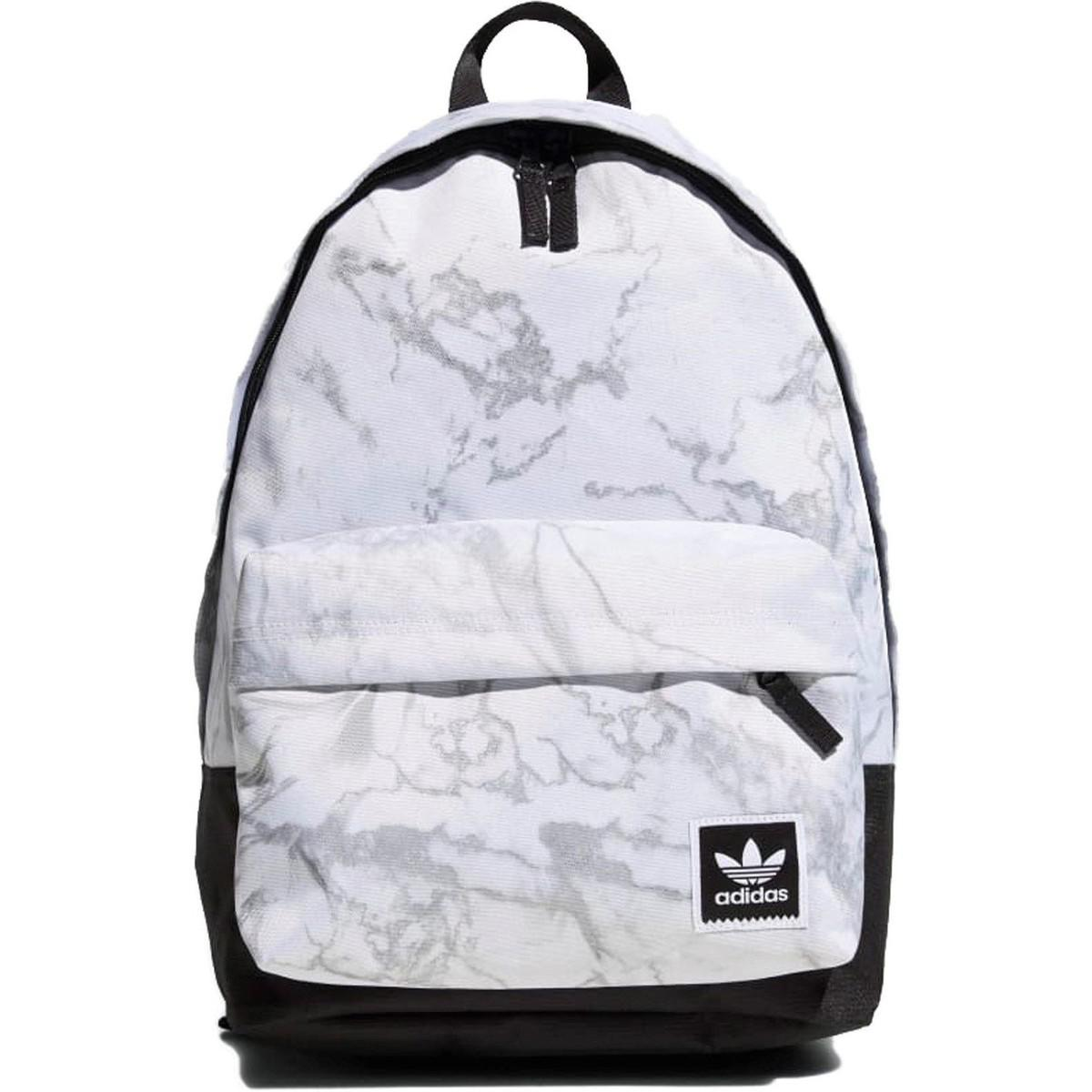 589af45628e2 adidas Aop Multicolour Blanco Men s Backpack In White in White for ...