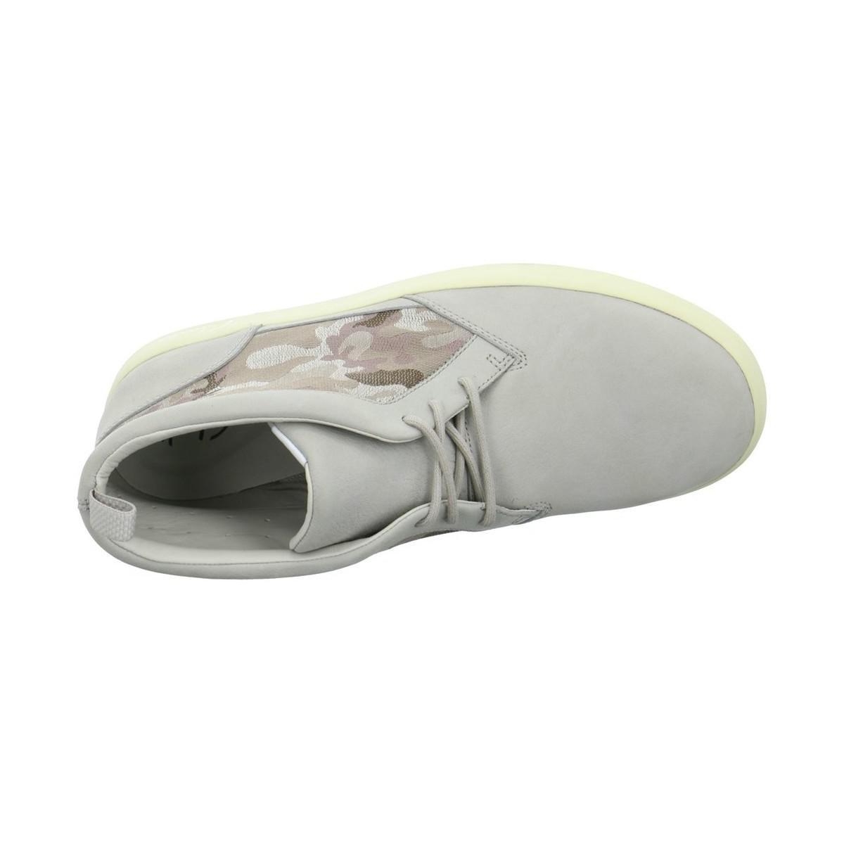 Clarks Tanner Sky Men's Shoes (high-top Trainers) In Grey in Grey for Men