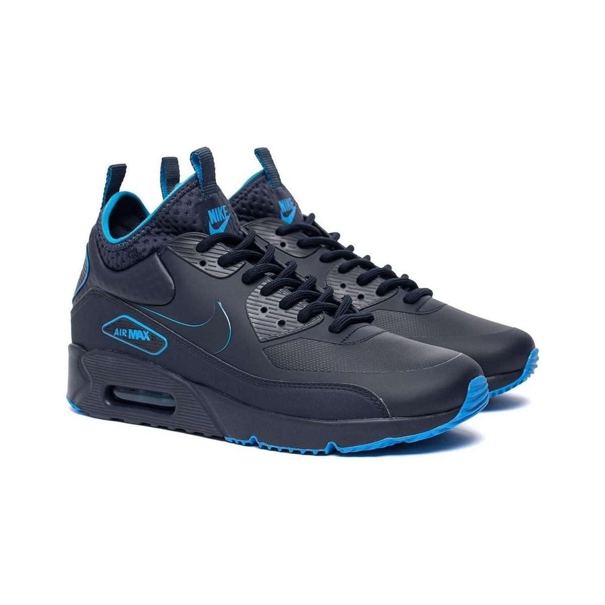 Nike Air Max 90 Ultra Mid Winter Se Men's Shoes (high-top Trainers) In Multicolour in Blue for Men