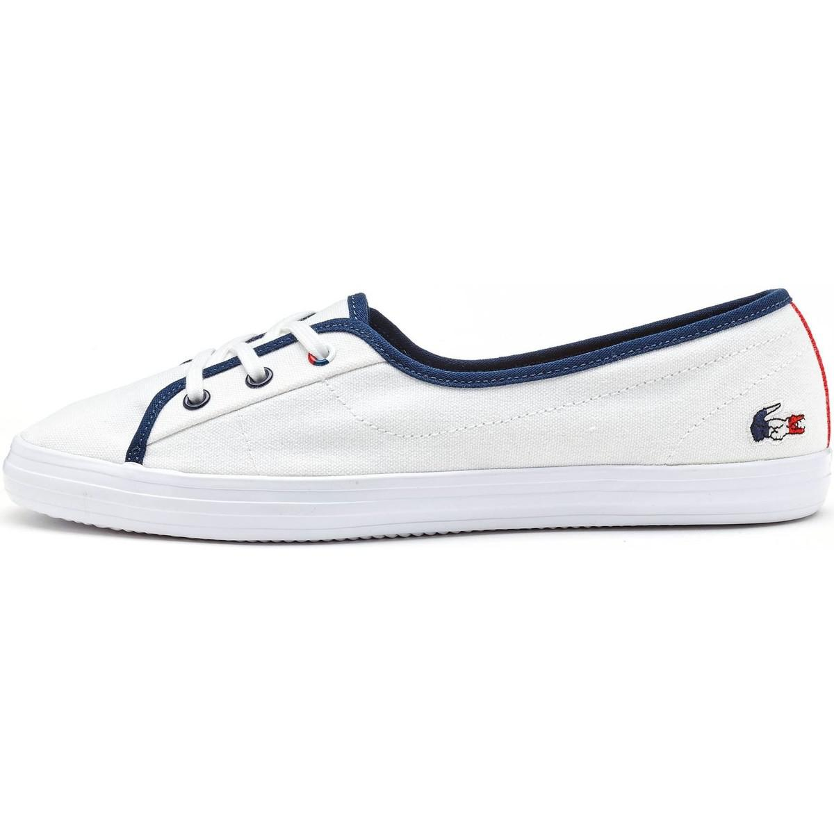 7017b962fde146 Lacoste Ziane Chunky 317 1 Caw Trainers In White 734caw0063 001 ...