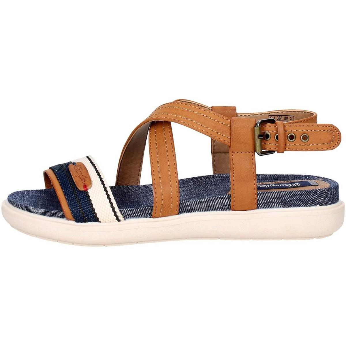 763a13a60d1f Wrangler Wl171663 Women s Sandals In Brown in Blue - Lyst
