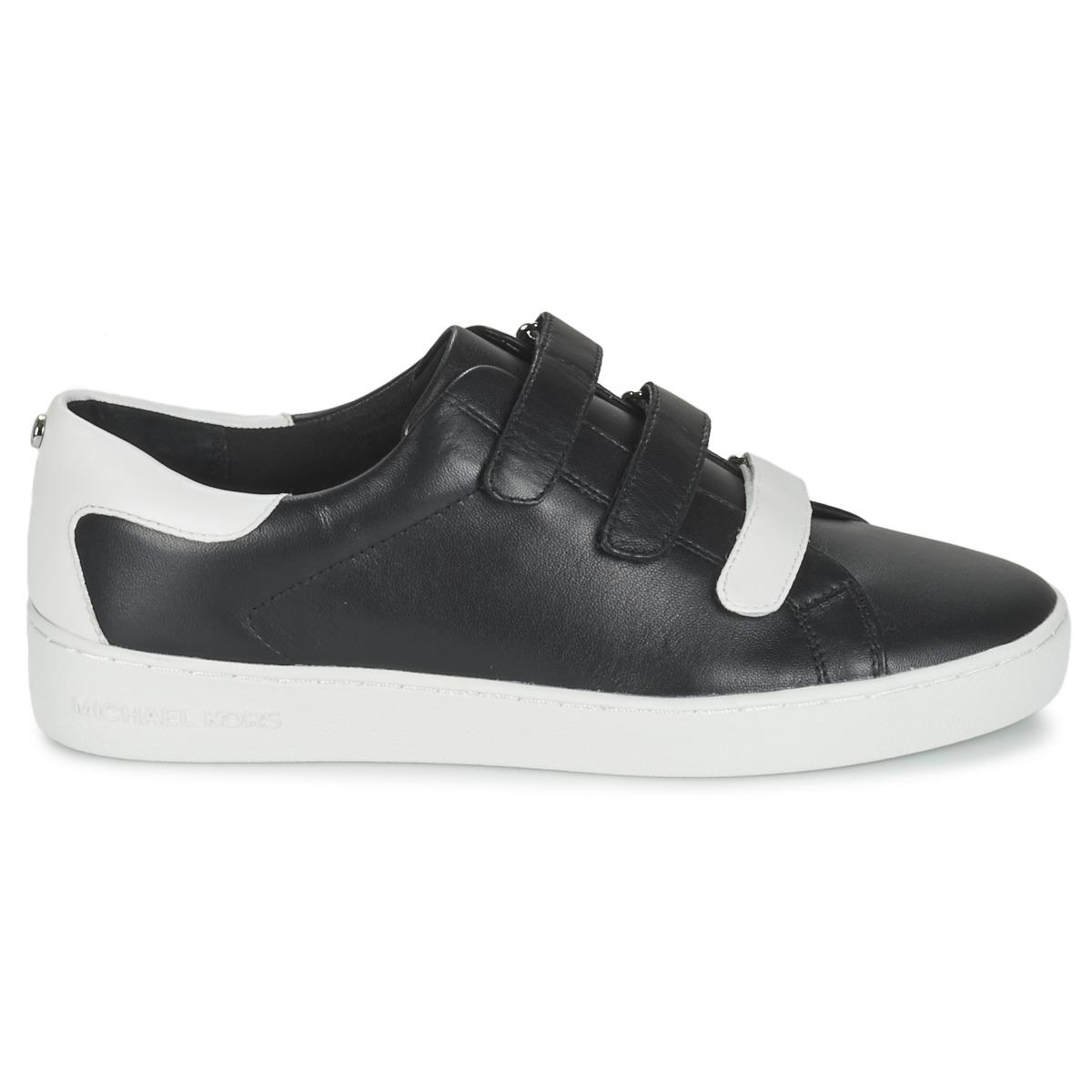 MICHAEL Michael Kors Leather Craig Women's Shoes (trainers) In Black