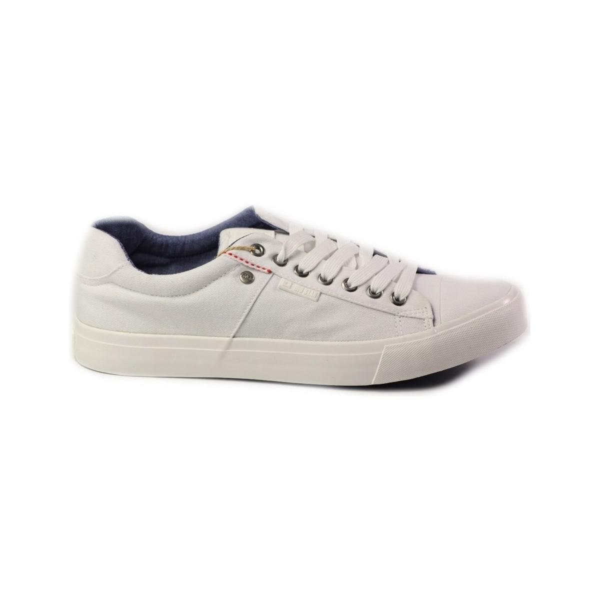 Big Star U174120 Men's Shoes (trainers) In White for Men
